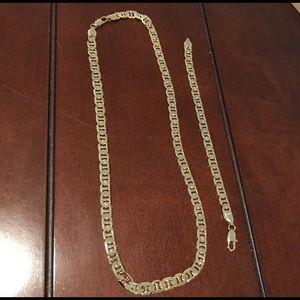 Other - San Tropez designer necklace and bracelet.